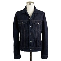 Denim jacket in dark rinse wash