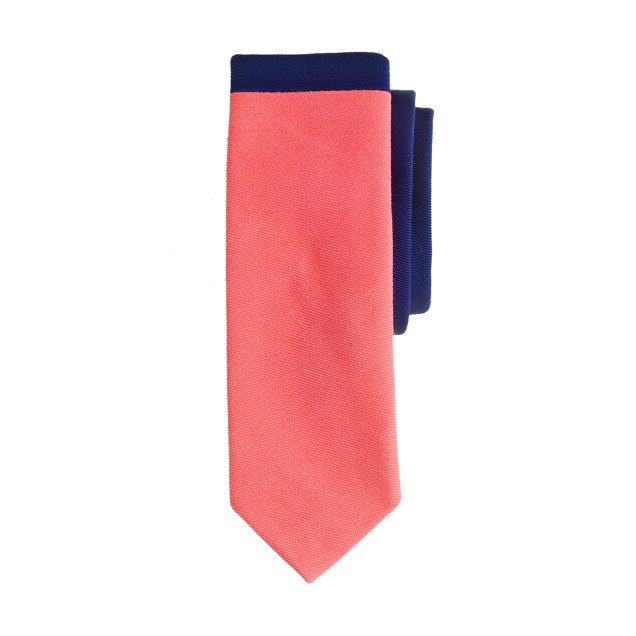 Boys' tie in colorblock