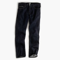 484 Japanese selvedge jean in resin crinkle wash
