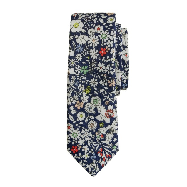 Boys' Liberty tie in June's Meadow floral