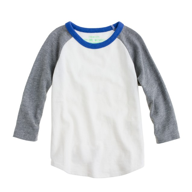 Boys' heavyweight baseball T-shirt