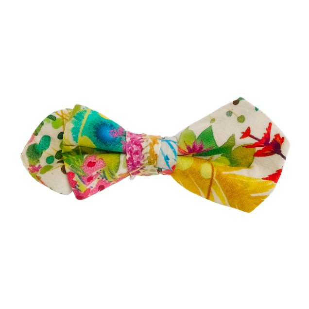 Boys' Liberty bow tie in Tresco floral