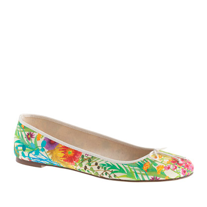 Collection classic Liberty floral ballet flats