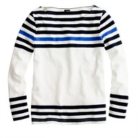 Sailor tee in engineered stripe