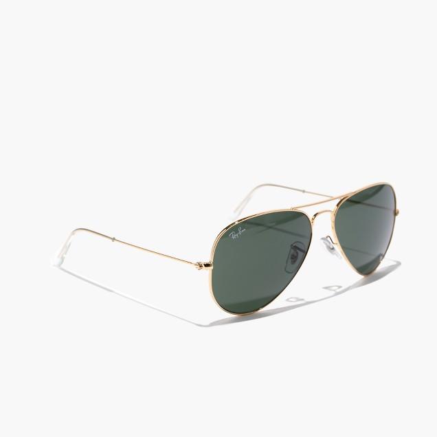 Ray-Ban® aviator sunglasses