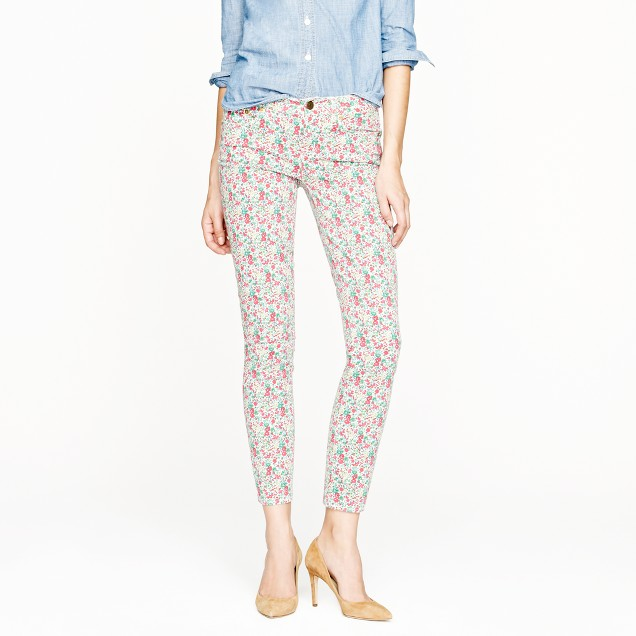 Tall Liberty toothpick jean in Emma and Georgina floral