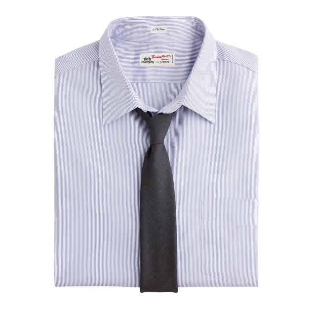 Thomas Mason For J Crew Point Collar Dress Shirt In