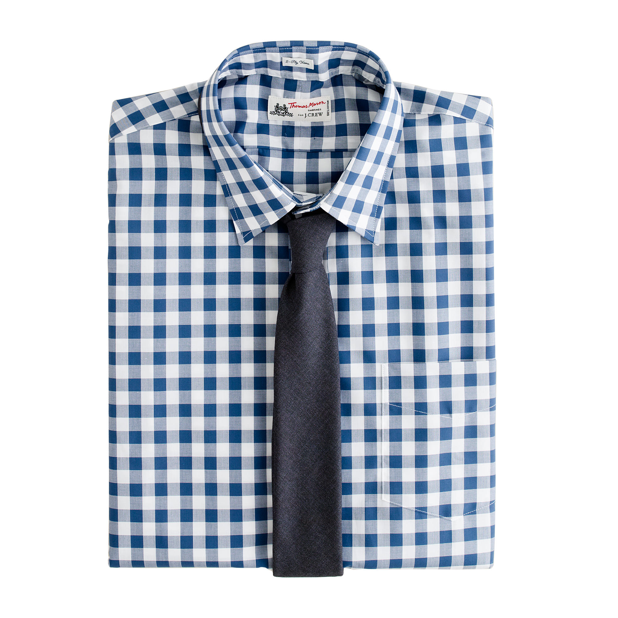 Thomas mason for j crew point collar dress shirt in for Thomas mason dress shirts