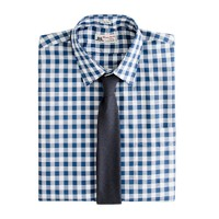 Thomas Mason® for J.Crew point-collar dress shirt in gingham
