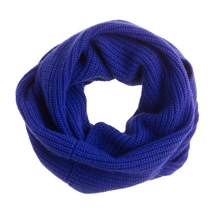 Wool-angora snood