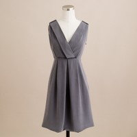 Aveline dress in washed crepe