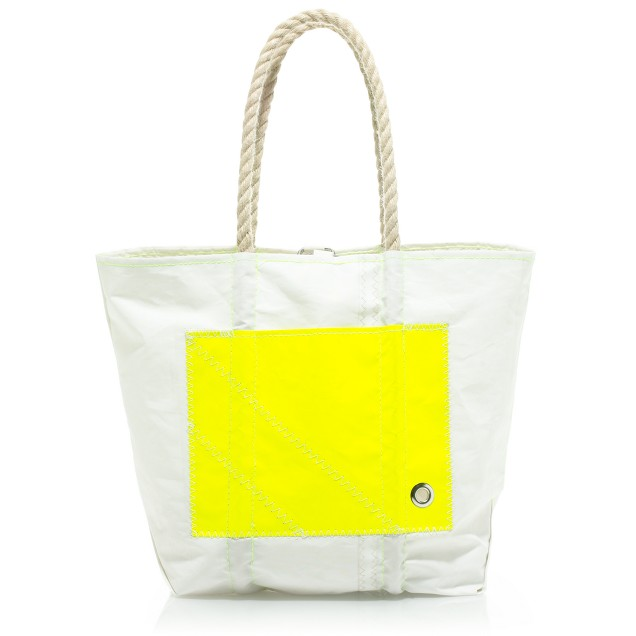 Angela Adams® and Sea Bags for J.Crew pocket sail bag