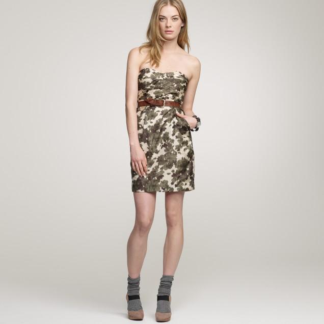 Ikat bustier dress
