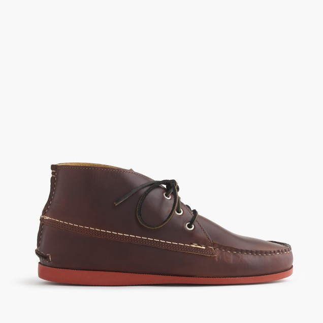 Quoddy® for J.Crew leather chukka boots