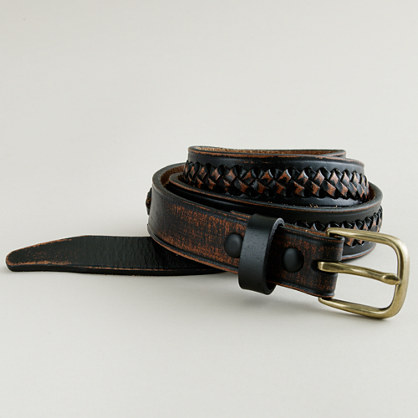 Vintage duo-sided belt