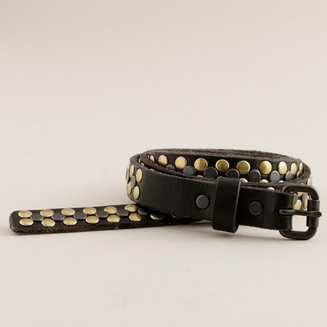 Double studded belt