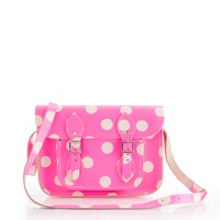 The Cambridge Satchel Company® polka-dot satchel
