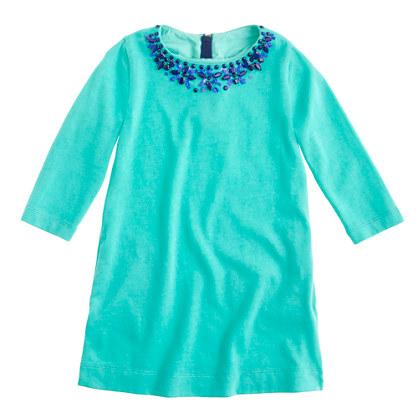 Girls' necklace tunic