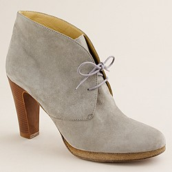Suede Flannery platform ankle boots