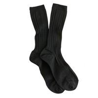 Trouser slouch socks