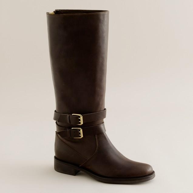 Britten tall flat boots