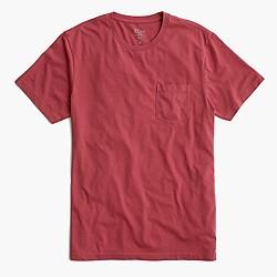 Slim broken-in pocket T-shirt