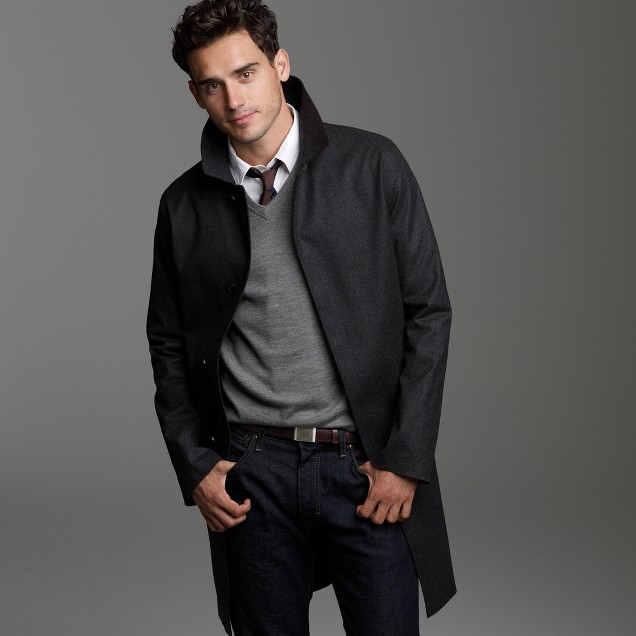 Fox Brothers & Co. for J.Crew Mackintosh® Newfield coat