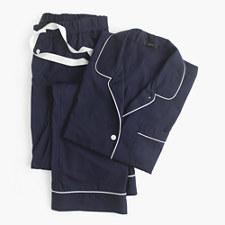 Petite vintage pajama set - NAVY