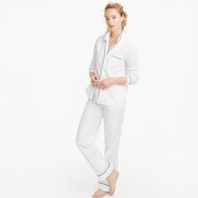 Vintage Pajama Set : Women's Pajamas & Sleepwear   J.Crew