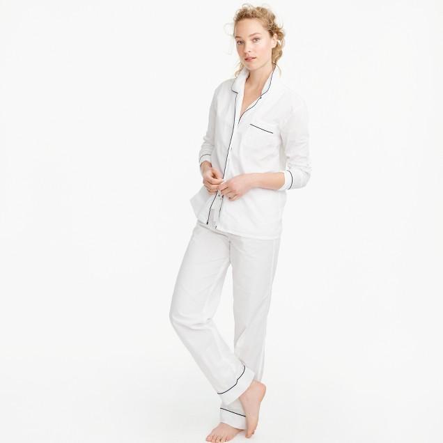Vintage Pajama Set : Women's Pajamas & Sleepwear | J.Crew