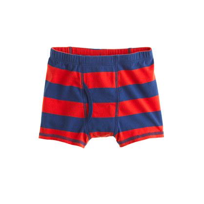 Boys' boxer briefs in stripe
