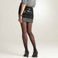 Back-seam tights