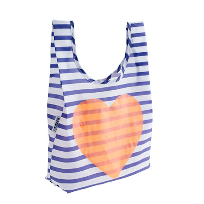 BAGGU® for crewcuts heart and stripe bag
