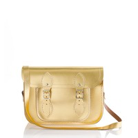 The Cambridge Satchel Company® small metallic satchel