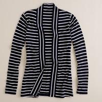 Sailor-stripe always cardigan