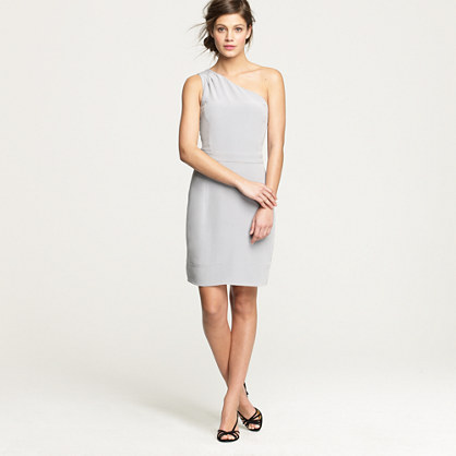Petite Nanine dress in washed crepe