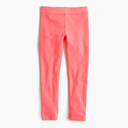 Girls' everyday leggings