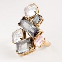 Glass tiles ring