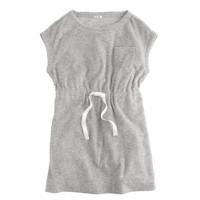 Girls' terry pocket dress