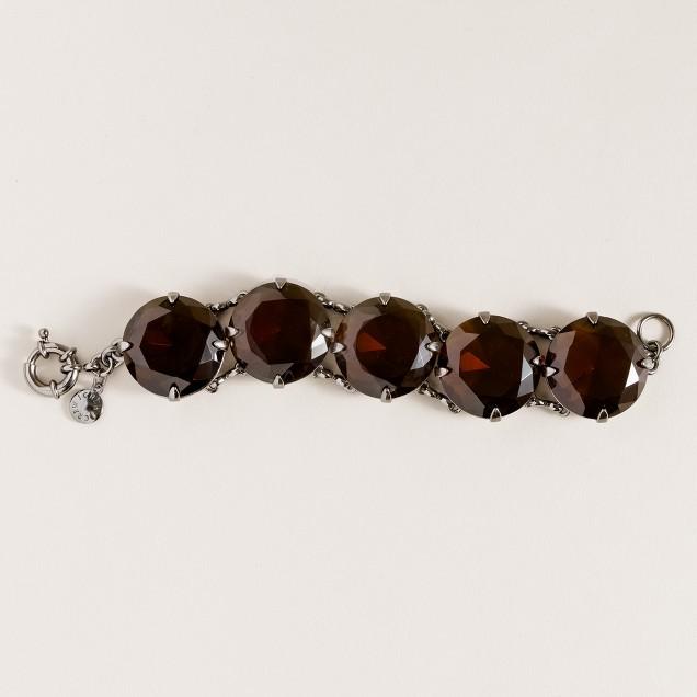Glass pools bracelet