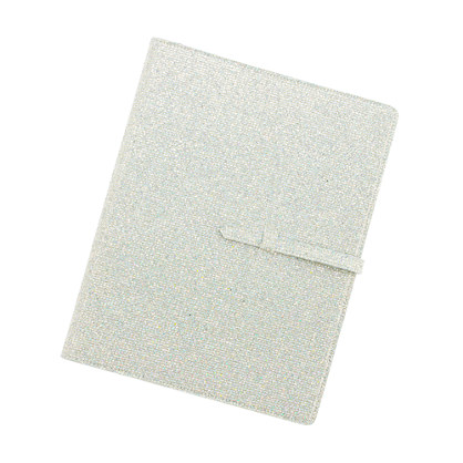Girls' glitter school folder