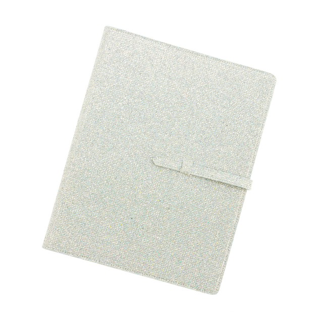 Girls' glitter school folder