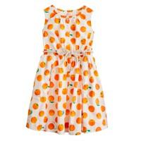 Girls' citrus sundress