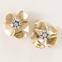 Beaming blossom earrings