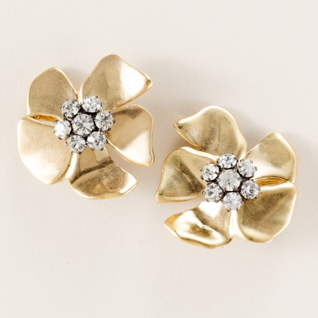 Beaming blossom earrings