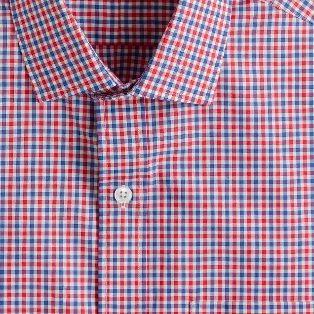 Thomas Mason® for J.Crew Ludlow shirt in bold poppy
