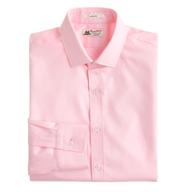 Thomas Mason® for J.Crew Ludlow shirt in royal oxford cotton