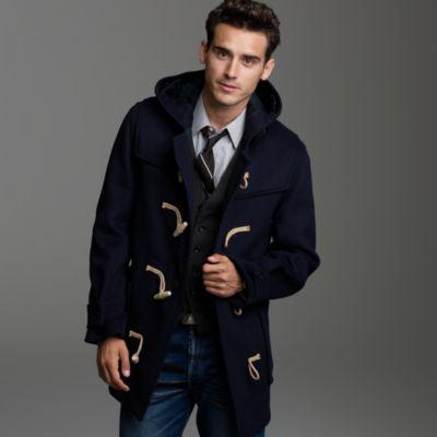 Gloverall® midlength duffle coat : Men J.Crew in good company | J.Crew