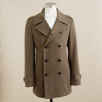Regent peacoat in Fox Brothers & Co. wool
