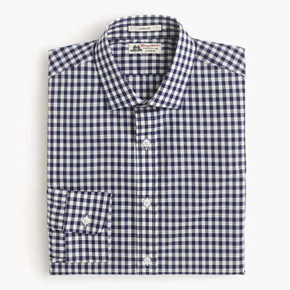 Thomas Mason® for J.Crew Ludlow shirt in gingham